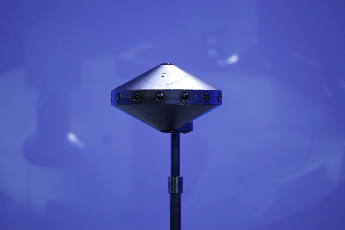 facebook surround 360 vr camera