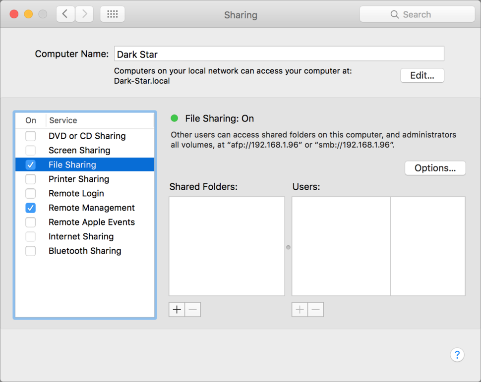 9 ways to share files between Macs | Macworld