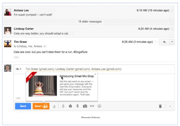 gmailmicdrop