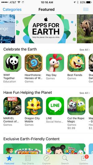 green app store