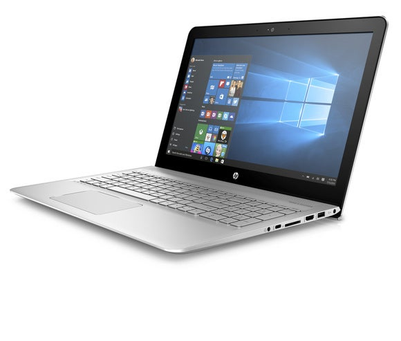 hp envy 15.6 nontouch left facing