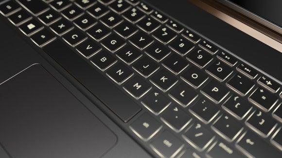 hp spectre 13.3 keyboard detail