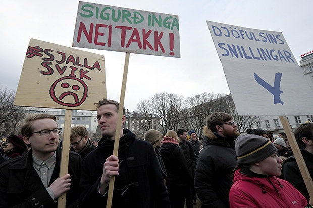 iceland panama papers
