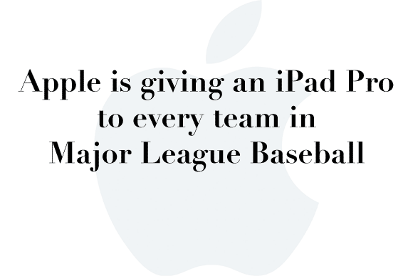 ipad pro baseball