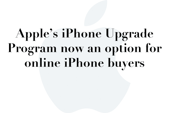 iphone upgrade program