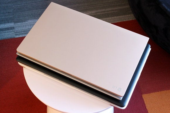 LG Gram 15 Stacked on Top of Rival 15-inch Laptops