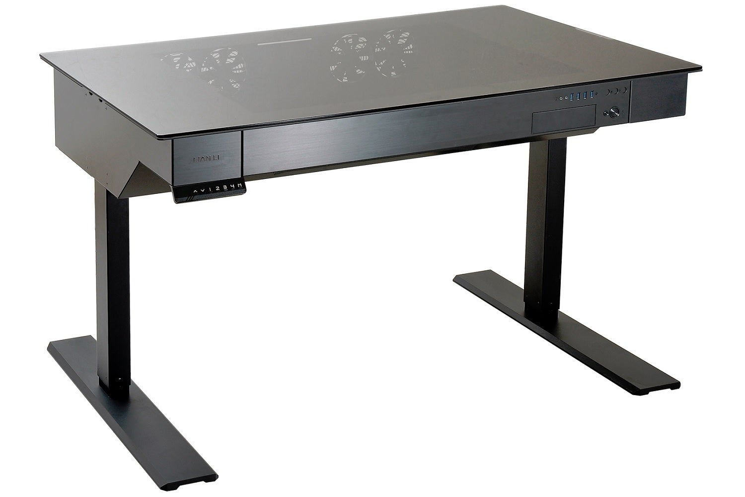 LianLis wild motorized standing desk doubles as a case for