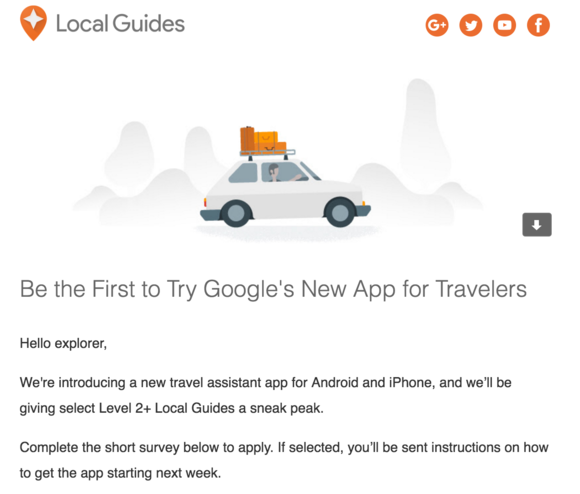local guides new app