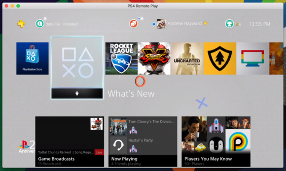 mac ps4 windowed