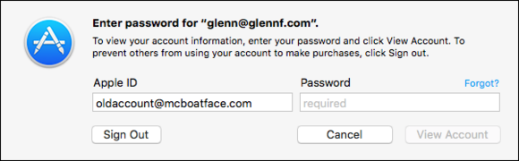 mac911 account login mac app store