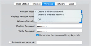 mac911 airport utility disable wifi network