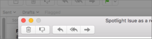 mac911 control buttons mail full screen