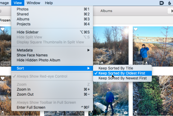 mac911 keep sorted photos osx