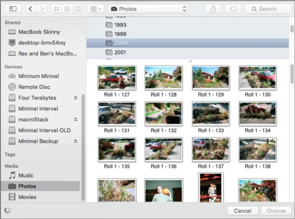 mac911 media browser selection dialog