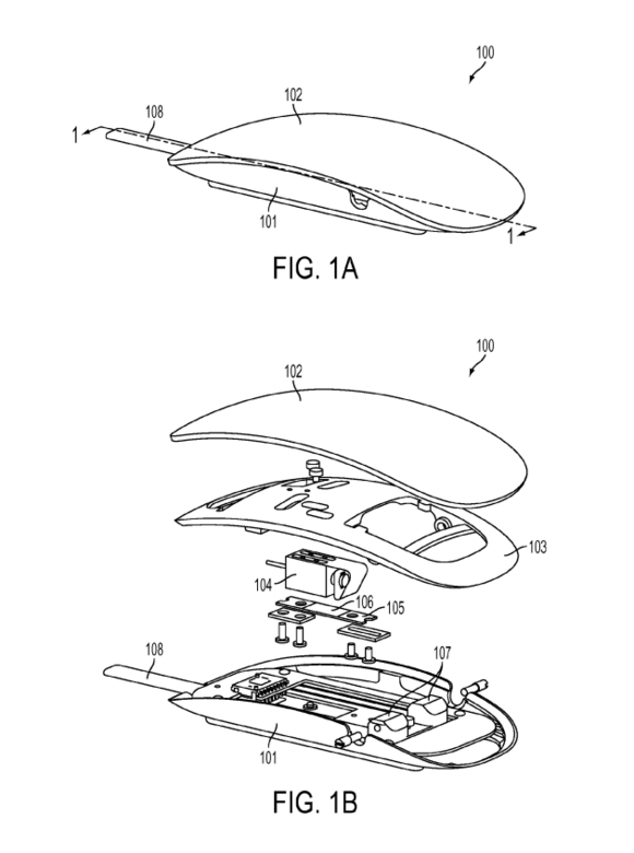 magic mouse patent
