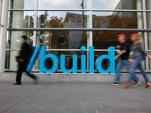 microsoft build 2016 sign