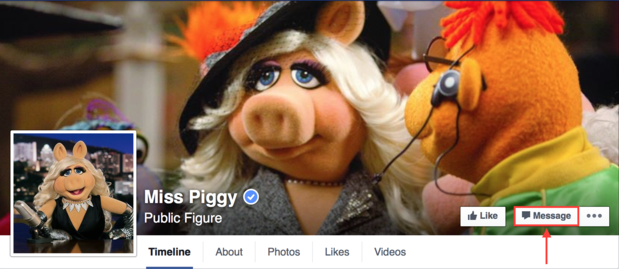 miss piggy message