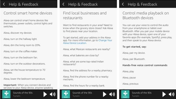 Alexa has instant voice commands for tedious tasks.