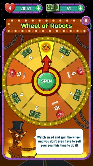 mw futurama wheel