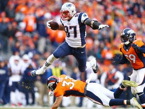 nfl football rob gronkowski patriots