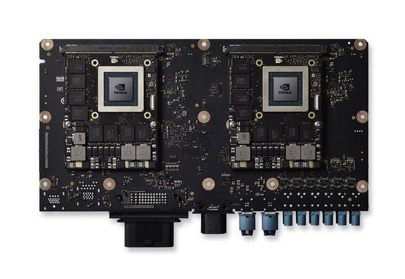 nvidia drive px 2 board