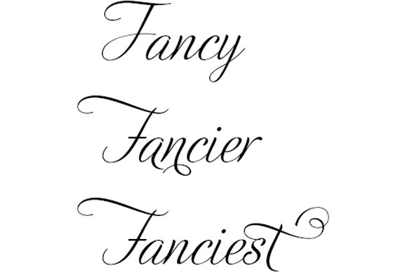 how to access advanced opentype features in a variety of