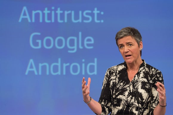 The European Commission may soon file new antitrust charges against Google.