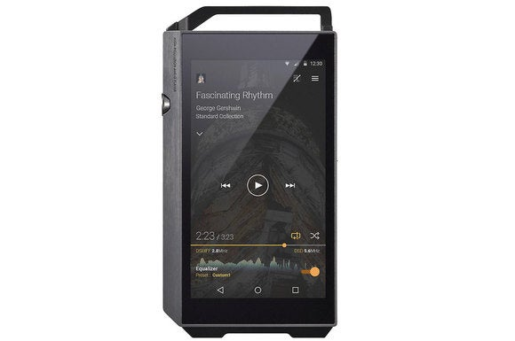 Pioneer's XDP-100R hi-res music player