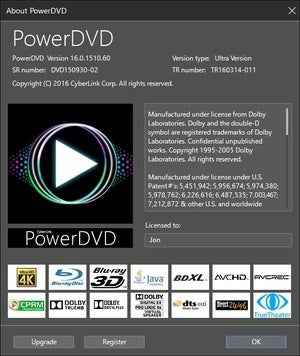 powerdvd b