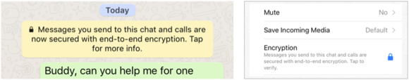 private i whatsapp verification places