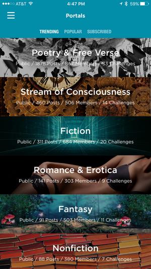 prose. iphone portals