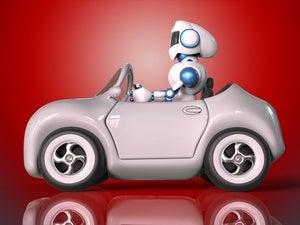robot driving ts