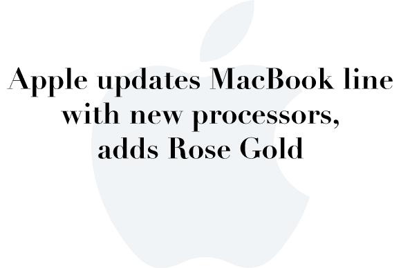 rose gold macbook