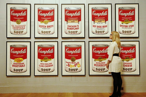 FBI offers $25k reward for Andy Warhol Campbell's Soup ...
