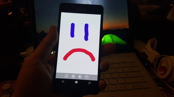 sad windows phone
