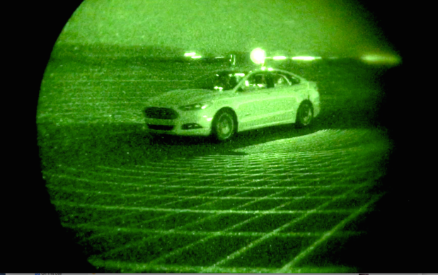 Ford LiDAR self-driving car