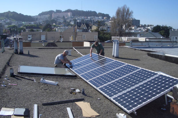 Solar panels San Francisco, California