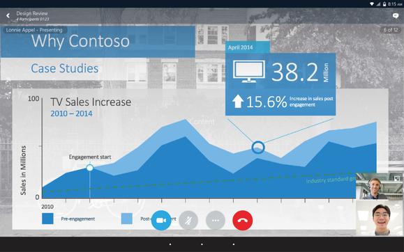 skype screen sharing