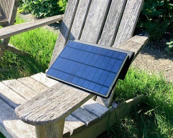 solartab charging view
