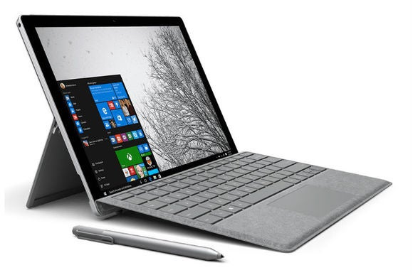 Surface Pro 4型封面采用高级签名版设计