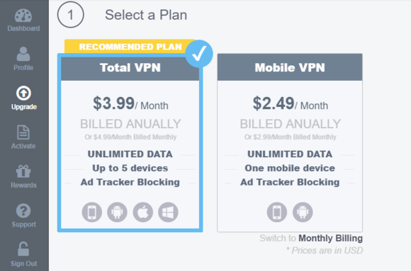 surfeasy vpn plans