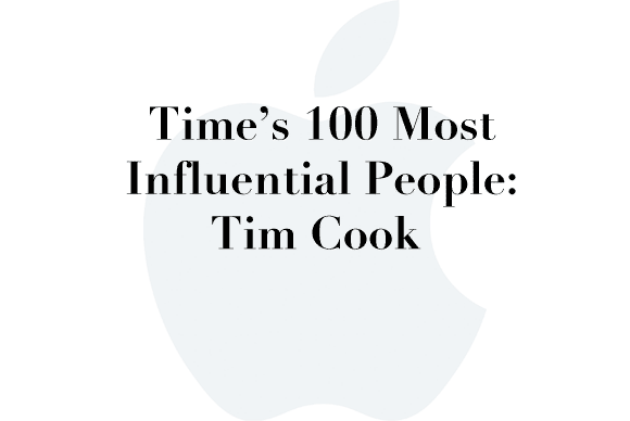 time 100 tim cook