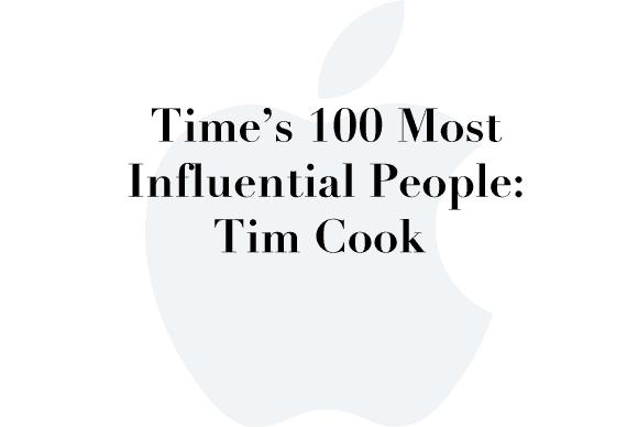 time 100 tim cook