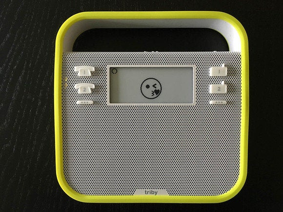 The Triby is a modern spin on the kitchen radio