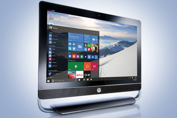 windows 10 hp aio