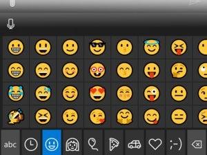 windows 10 mobile 14322 emoji