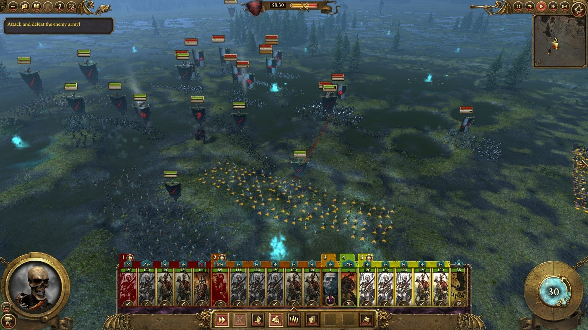 Total War: Warhammer review: Variety and Vampire Counts ...