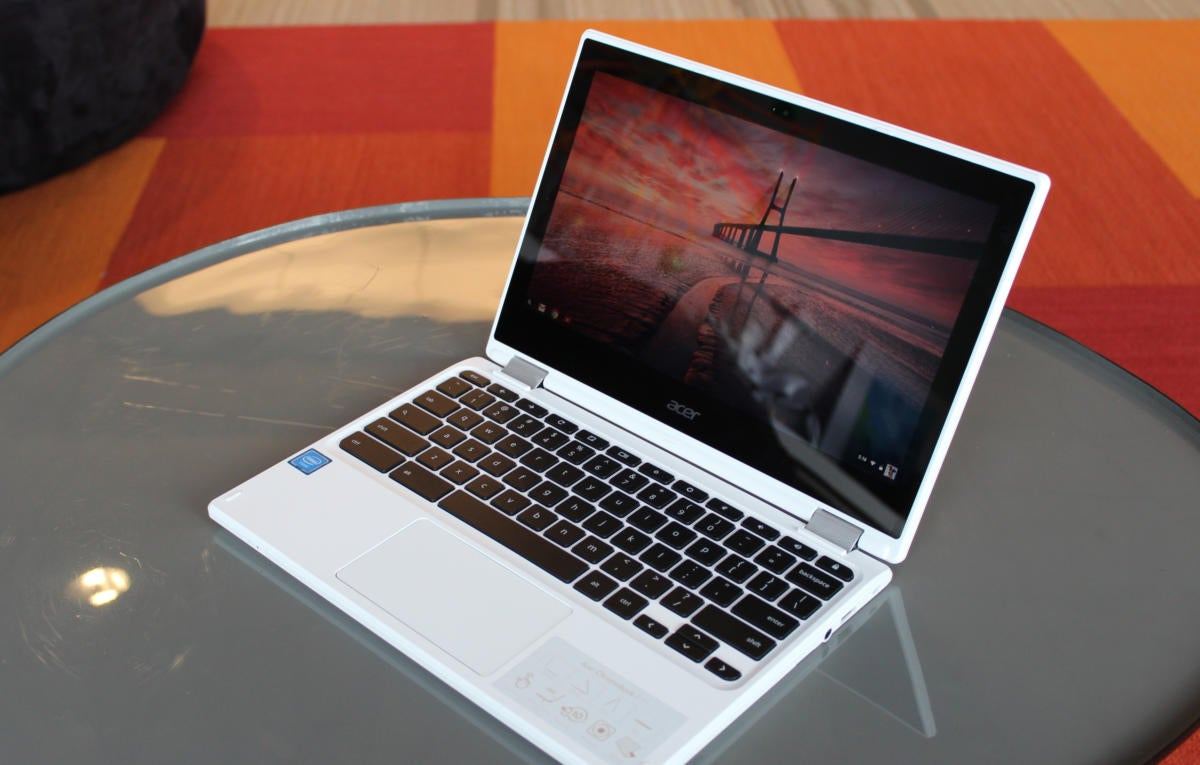 acer chromebook r11 3qtr front