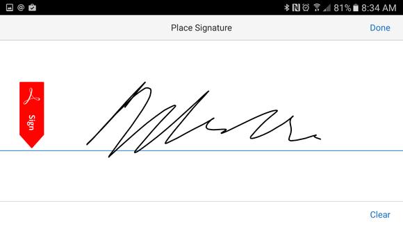 adobe signature