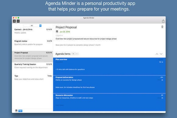 agendaminder
